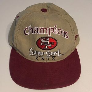 Other - Super Bowl 29 Champions SnapBack Hat 49ers